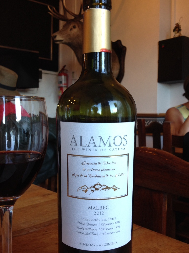 Another Malbec, a wine synonymous with Argentina.